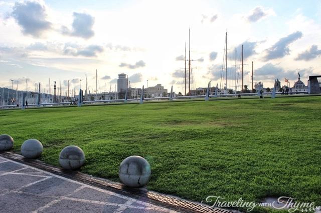 Barcelona Port Vell Park