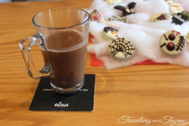 Elsa Chocolatier Hot Chocolate