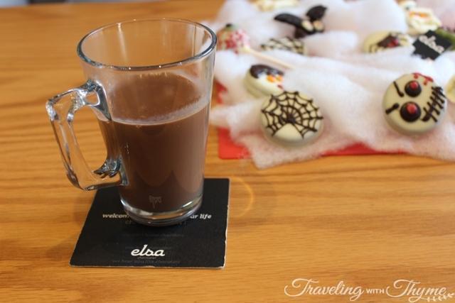 Elsa Chocolatier Hot Chocolate