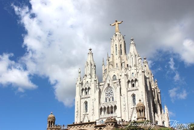 barcelona tibidabo monastery church