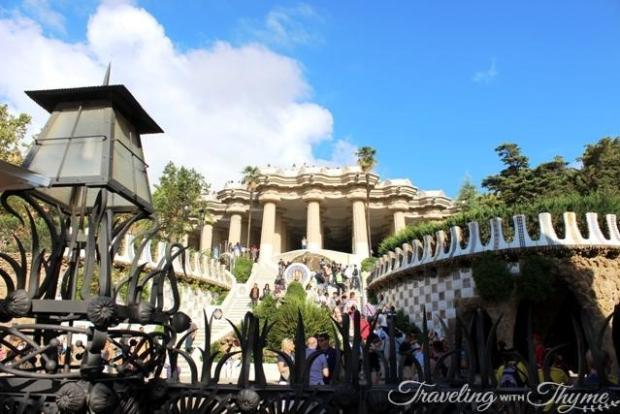 Barcelona Parc Guell Promised Land