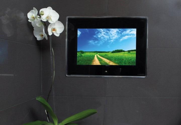 Le Gray Bathroom TV