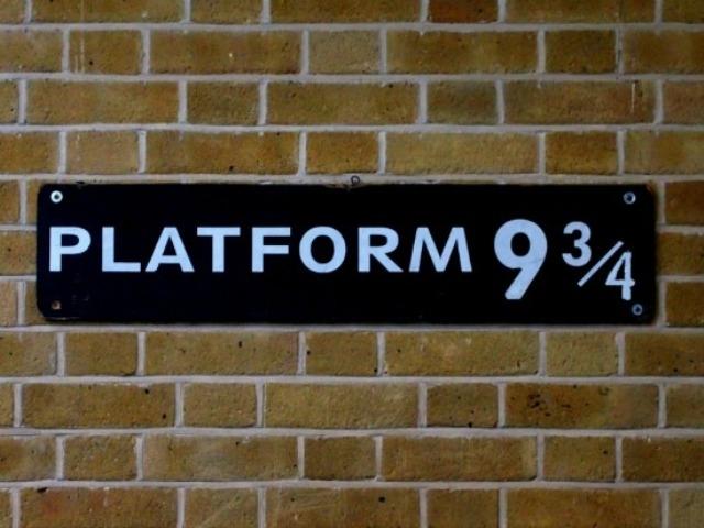 Platform 9 and 3/4 London