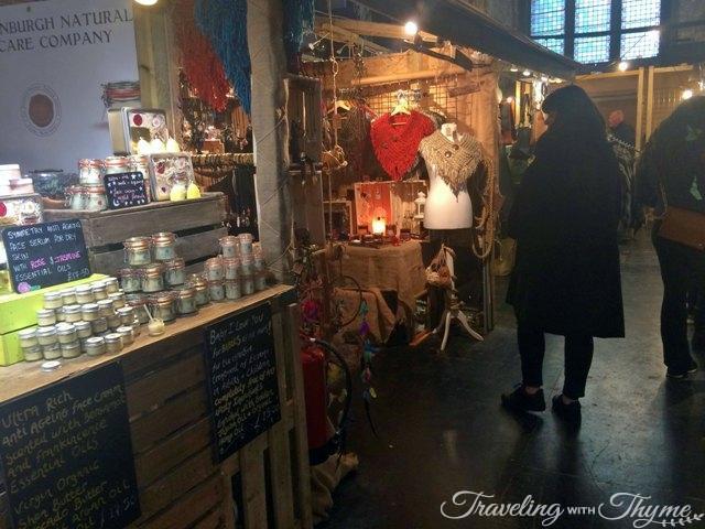 Edinburgh Marker Browsing Shopping