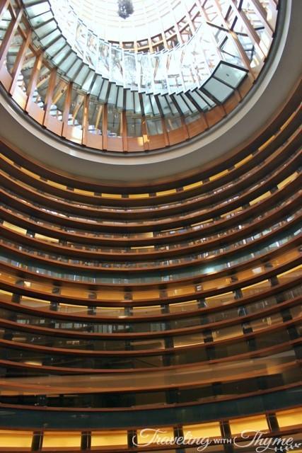 Le Gray Hotel Review Corridor Center