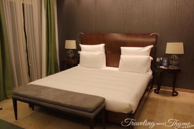 Le Gray Hotel Executive Suite Bedroom