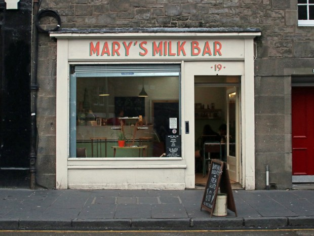 Mary's Milk Bar Storefront