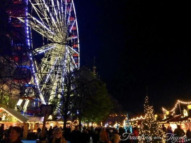 Edinburgh Ferris Wheel at Night