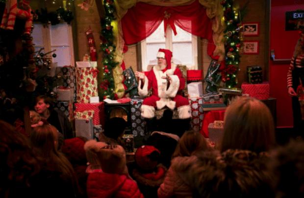 Santa Grotto Edinburgh Christmas
