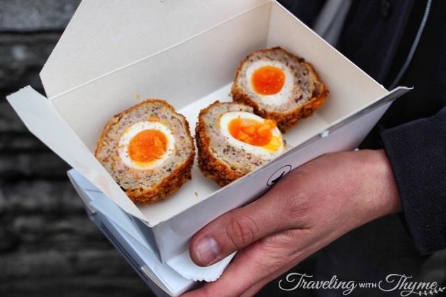Borough Market Foodie Scotch Eggs