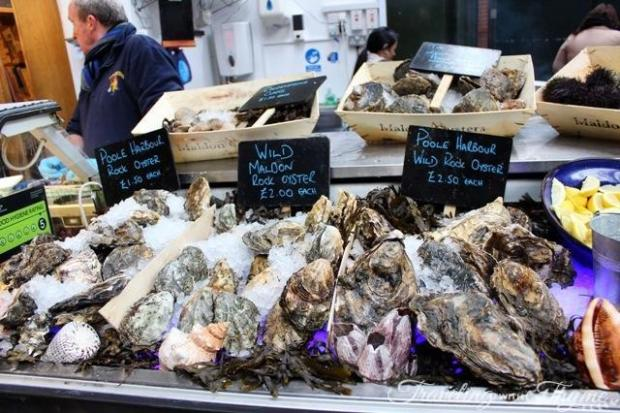 London Borough Market Oysters