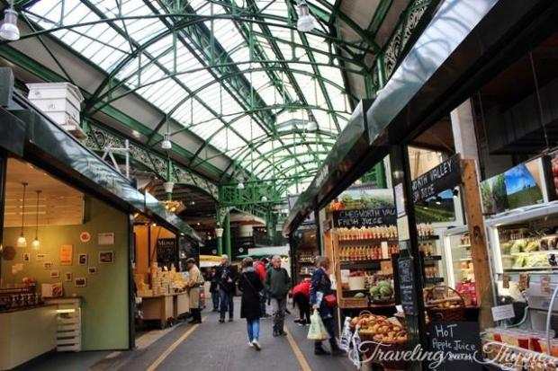 borough market entrance london