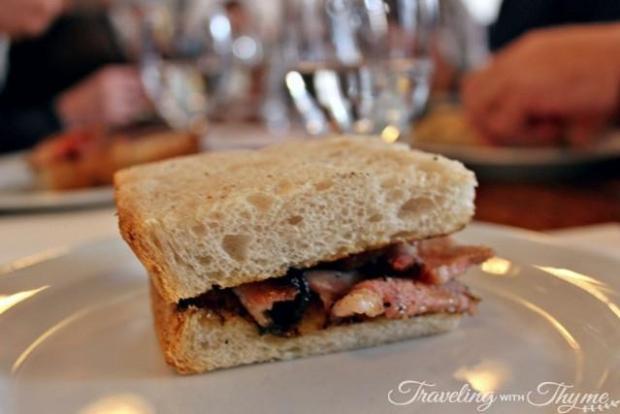 Bacon Sandwich St John London
