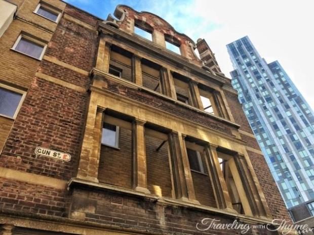 Gun Street Old Building Shoreditch