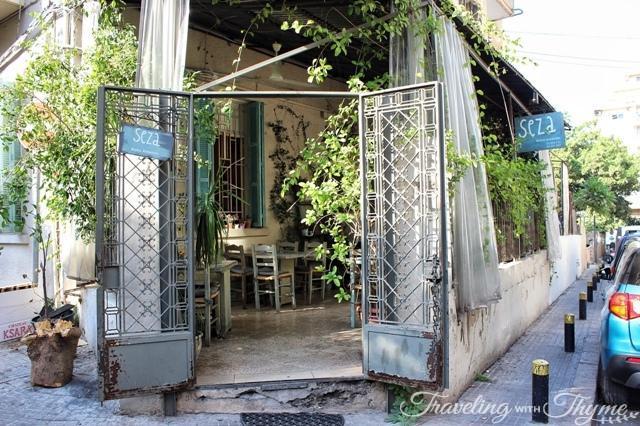 Seza Bistro Entrance Mar Mikhael