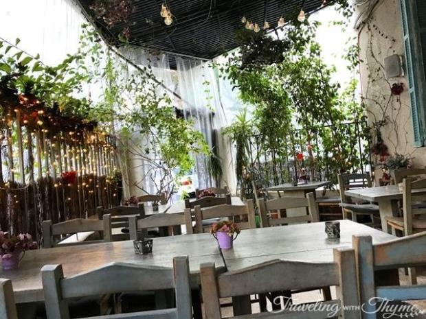 Seza Armenian Restaurant Outdoor Seating