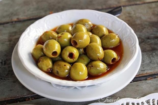 Spicy Marinated Olives Seza Armenian