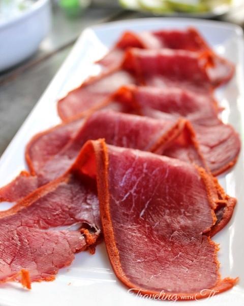 Seza Armenian Basterma Meat Beirut