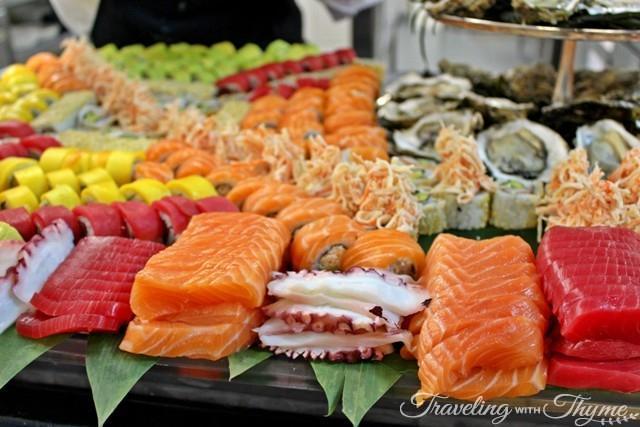 Sushi Buffet Four Seasons Hotel Beirut