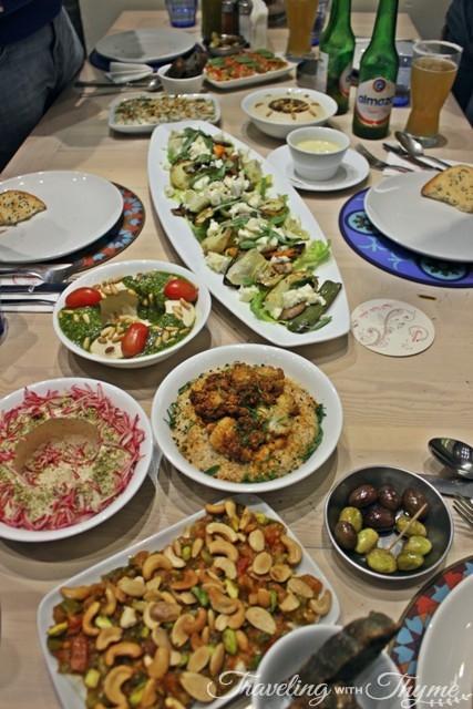 Nasma Beirut Lebanese Cuisine Mezza