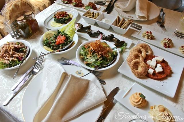 Lunch Villa Linda Sursock Le Bristol