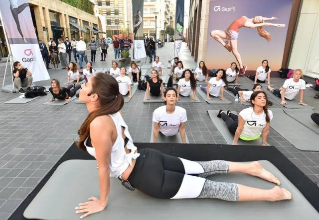 32d20f7a86c55c IAmGapFit at the Official Launch of the GapFit SS17 Collection at ...