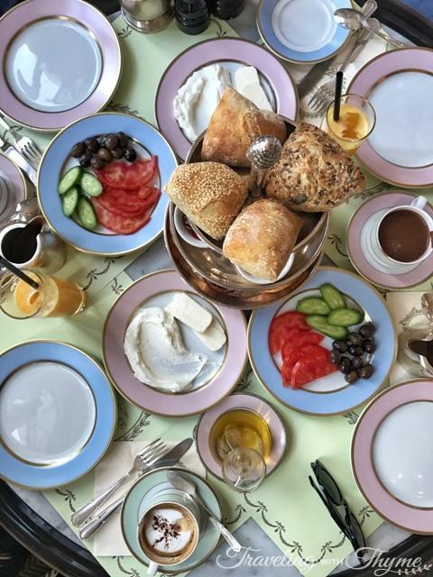 LaDuree Brunch Breakfast Beirut