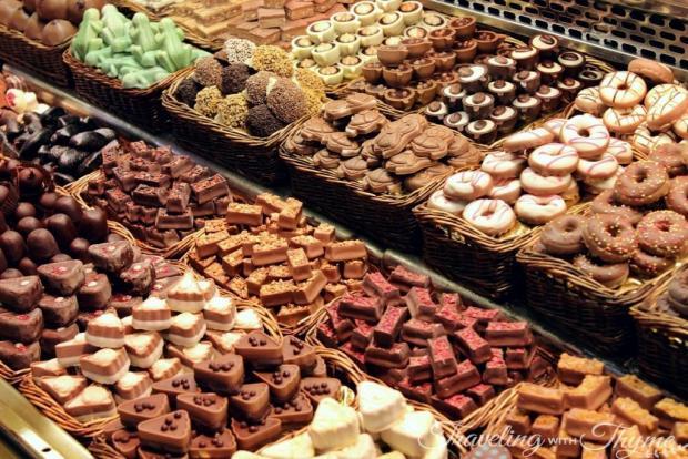 La Boqueria Market Barcelona Chocolate Mercat