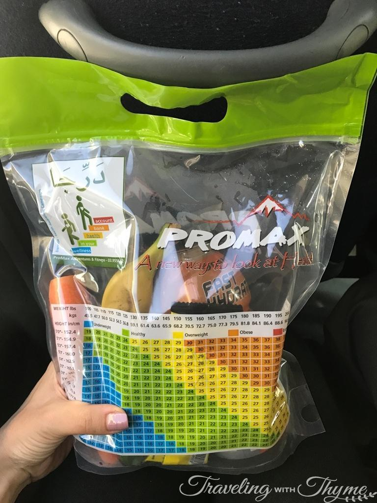 PROMAX Sports Lebanon Hiking Nutrition