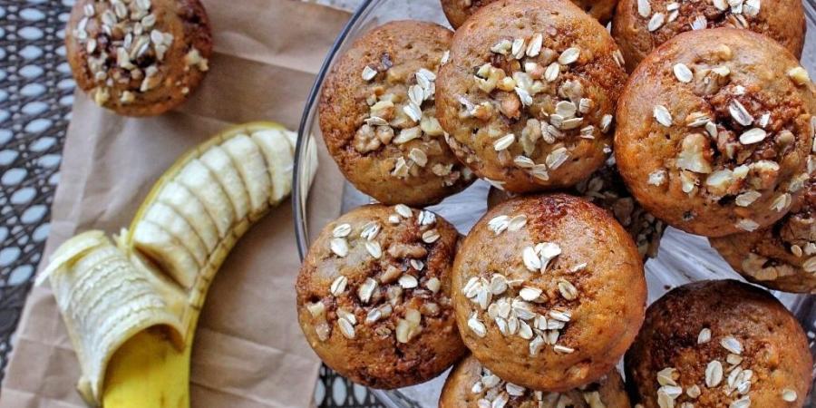 Healthy Banana Muffins Recipe Oatmeal
