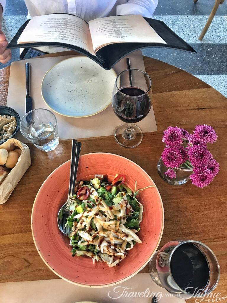 Sapori e Vini Jbeil Calamari Salad