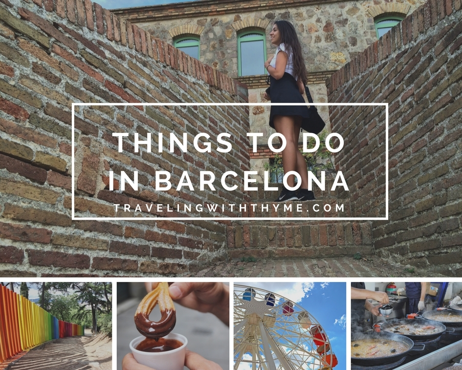 16 Fun Things to Do in Barcelona this Summer [Travel Guide]