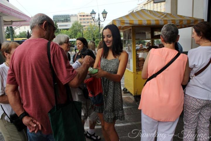 Athens Food Tour Koulouri Street Food