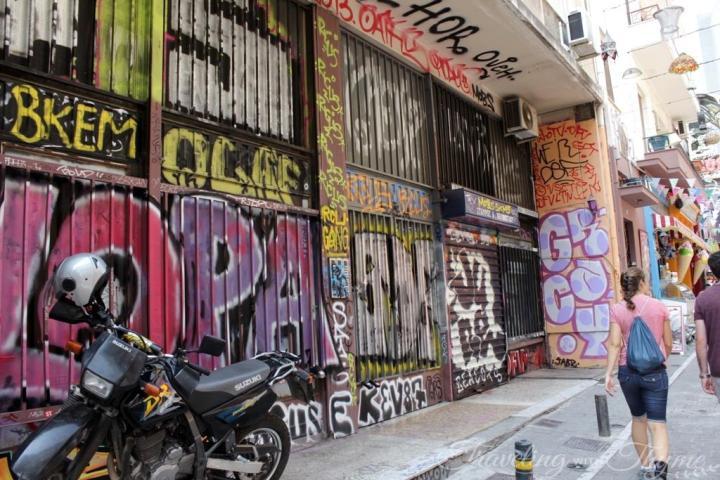 Athens Walking Tour Little Kook Graffiti