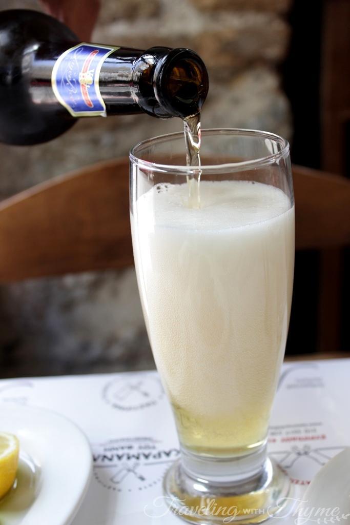 Karamanlidika tou Fani Restaurant Athens Beer