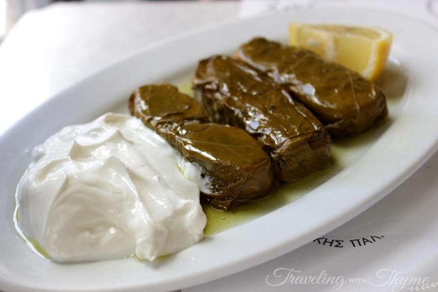 Karamanlidika Restaurant Athens Dolma Dolmades