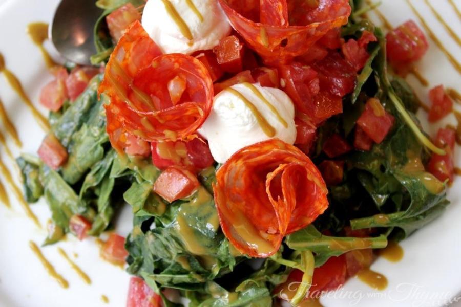 Karamanlidika tou Fani Restaurant Athens Salad