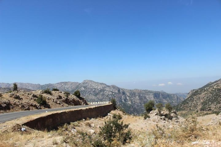 Tannourine Lebanon Scenery Landscape Mountains Nature
