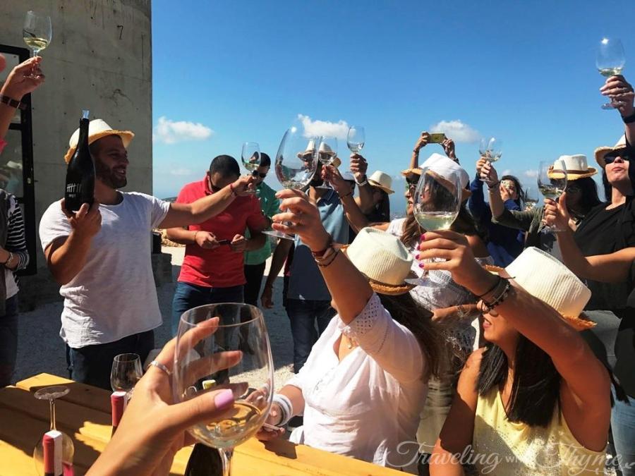 Lebanese Wine in Batroun Sept Winery