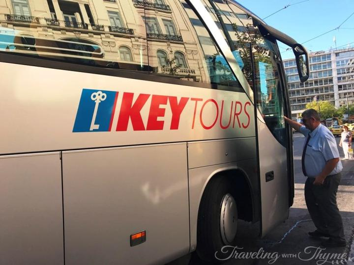 Acropolis Key Tours Greece Bus Athens