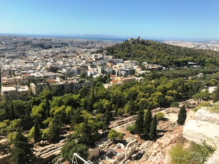 Key Tours Athens Greece Acropolis View