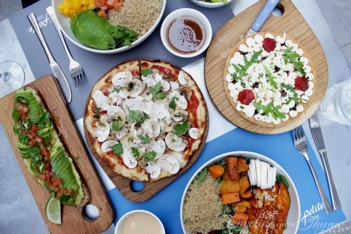 La Petite Table Lebanon Healthy Flatlay