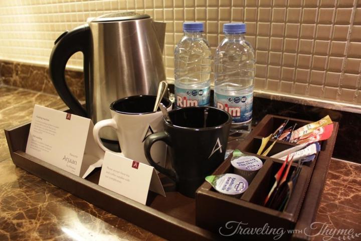 Raouche Arjaan Rotana Hotel Suite Kitchen