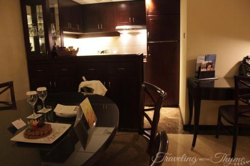 Rotana Hotel Raouche Suite Kitchen Room