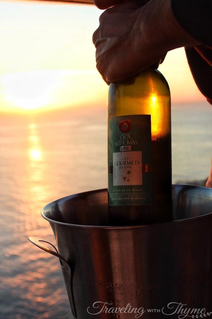 Rotana Hotel Raouche Sunset Wine Beirut