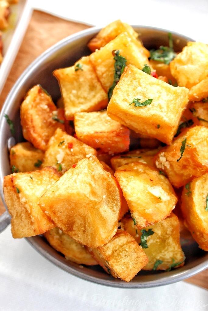 Enab Beirut Batata Lebanese food blogger
