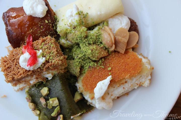 Hallab Tripoli Lebanese sweets Lebanon Ashta