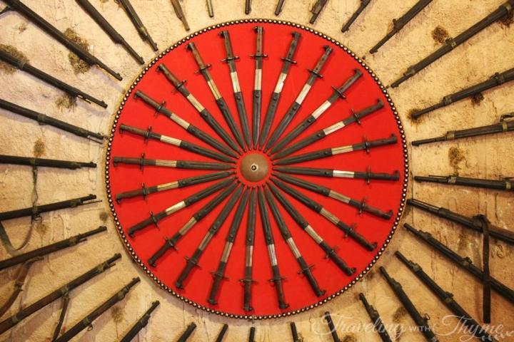 Moussa Castle Weapons Artifacts History Lebanon