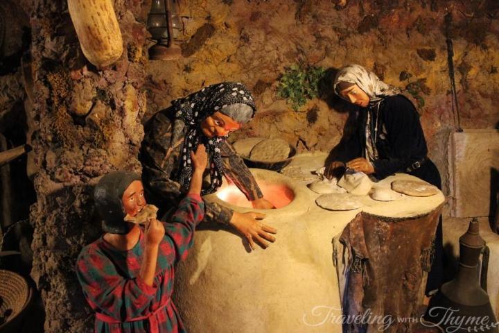 Traditional Lebanese cuisine bakery Beiteddine Lebanon