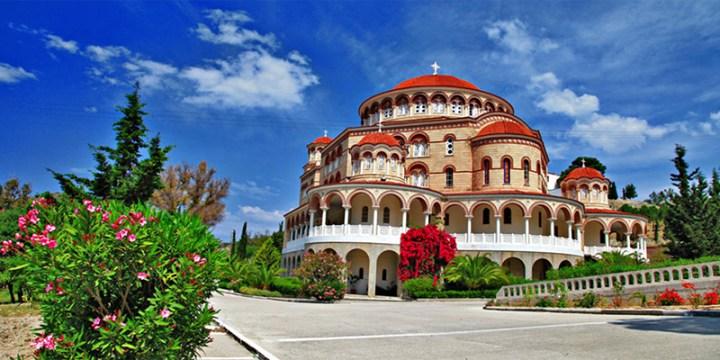 Guide to Aegina Agios Nektarios Church